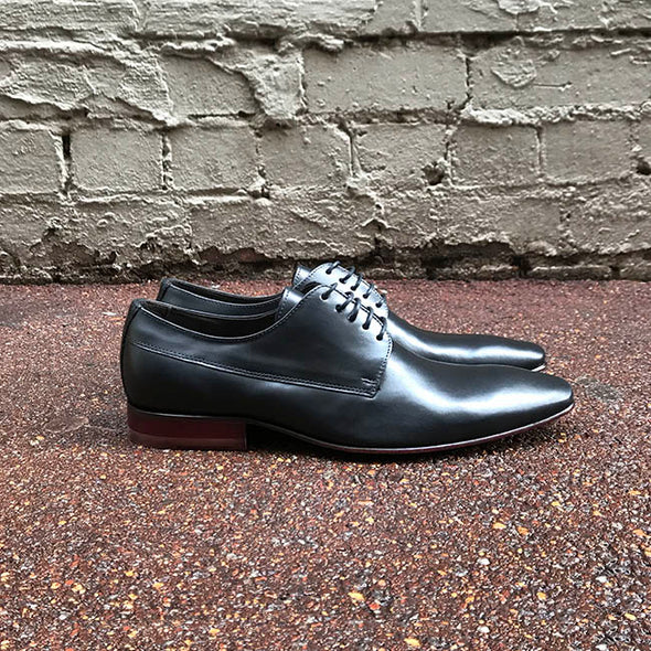 McCartney Leather Derby - Black - Gingers & Providence
