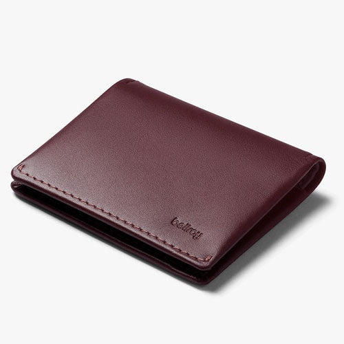 Slim Sleeve Wallet - Wine - Gingers & Providence