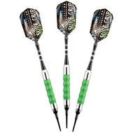 Viper Sure Grip Green Soft Tip Darts 18
