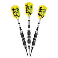 Viper The Freak Soft Tip Darts 3 Knurled Rings Barrel 18