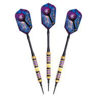 Viper Wizard Purple/Black Soft Tip Darts 18
