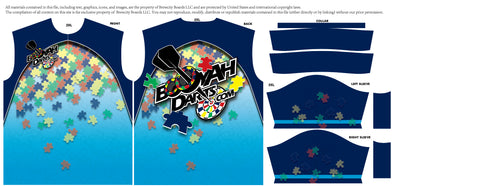 2020 Autism Awareness Jersey