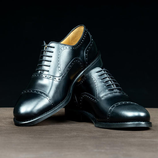 Oxford Full Brogue in Black