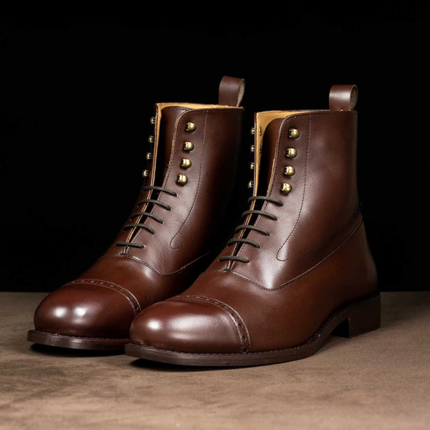 Oxford Tall Boots in Brown