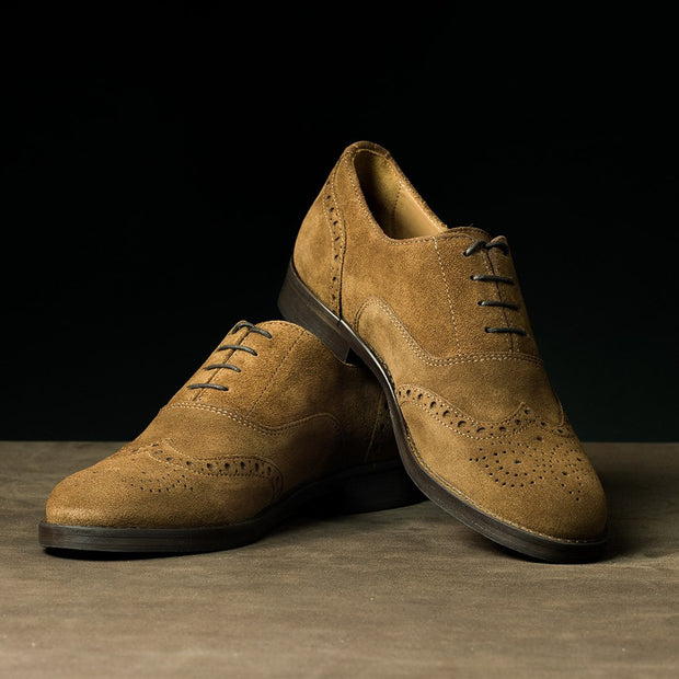Derby Brogue in Suede