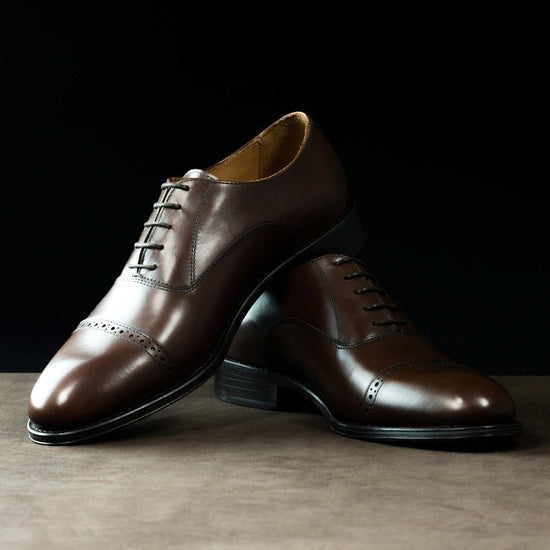 Oxford Brogue in Brown
