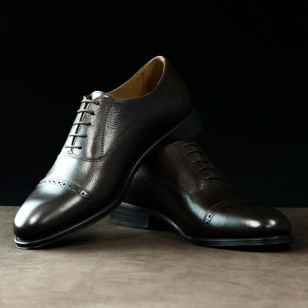 Oxford Brogue in Moka