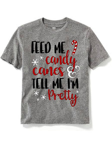 Feed me candy canes and tell me I'm pretty!