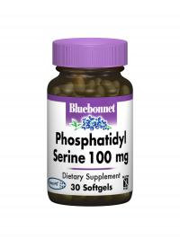 Phosphatidyl Serine-Cognitive Support-Bluebonnet-60-Connor Health Foods
