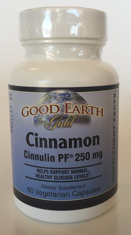 Cinnamon Cinnulin PF 250 mg-Good Earth-Connor Health Foods