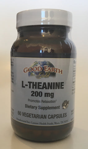 L-Theanine 200 mg-Good Earth-Connor Health Foods