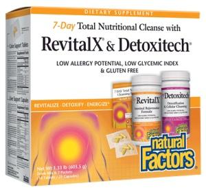 7-Day Total Nutritional Cleanse-Natural Factors-Connor Health Foods