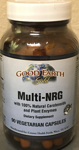 Multi-NRG-multiple vitamin-Good Earth-Connor Health Foods