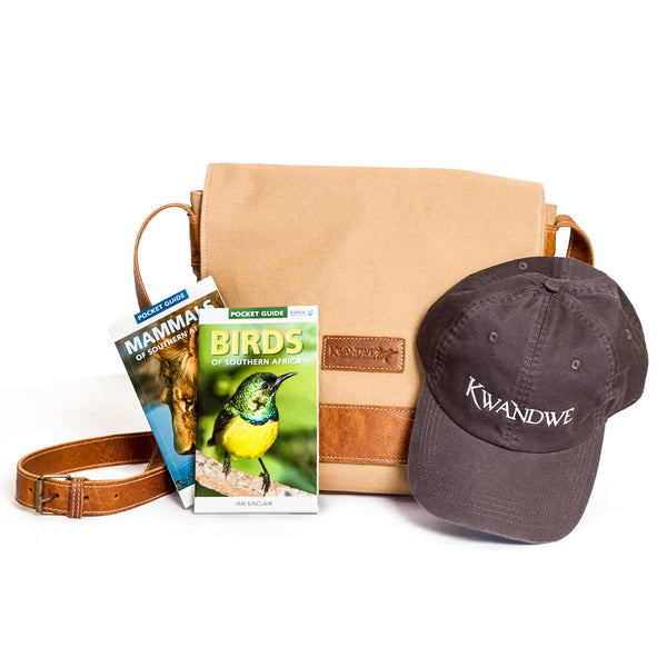 Safari Bag with Pocket Guides