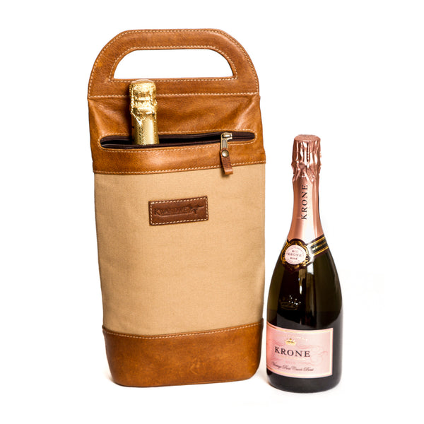 Canvas Wine Carrier