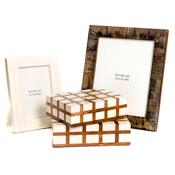 Horn & Wood Frames and Boxes