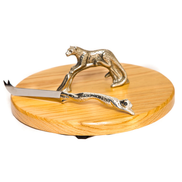 Cheetah Cheese Set