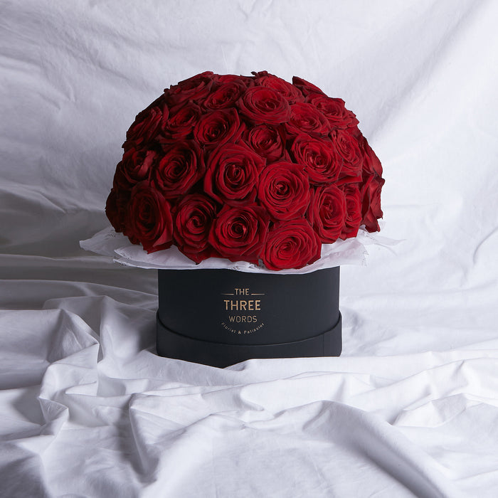 Red Roses (Bouquet or Round Box)