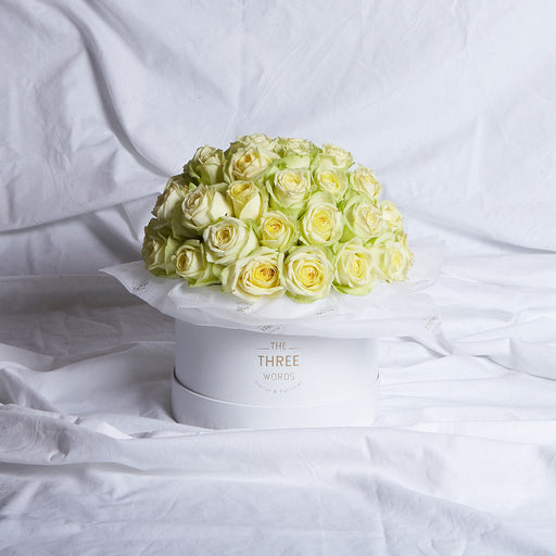 Green Roses (Bouquet or Round Box)