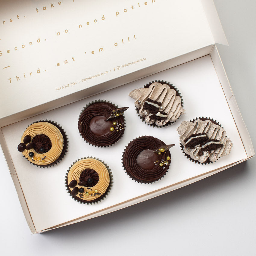 CHOCOLATE FLAVOURS CUPCAKES SET