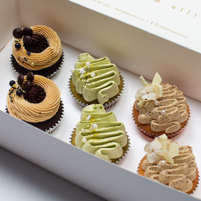 COFFEE AND TEA FLAVOURS CUPCAKES SET
