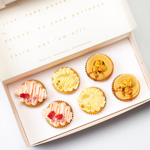 FRUIT FLAVOURS CUPCAKES SET