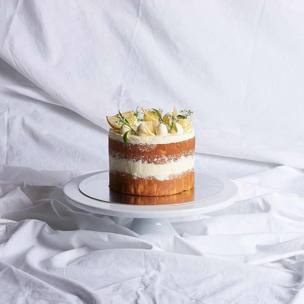 LEMON & ELDERFLOWER CAKE