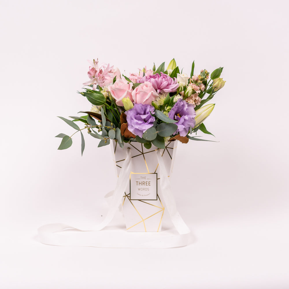 MOTHER'S DAY - SMALL LUX BAG FLOWERS