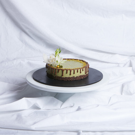 Matcha Green Tea Raw Cake (V, GF, DF & RSF)