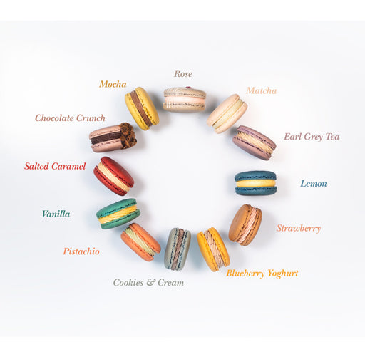Choose your favourite 12 Macarons