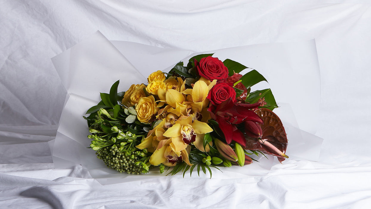 The Red, Yellow & Green Bouquet
