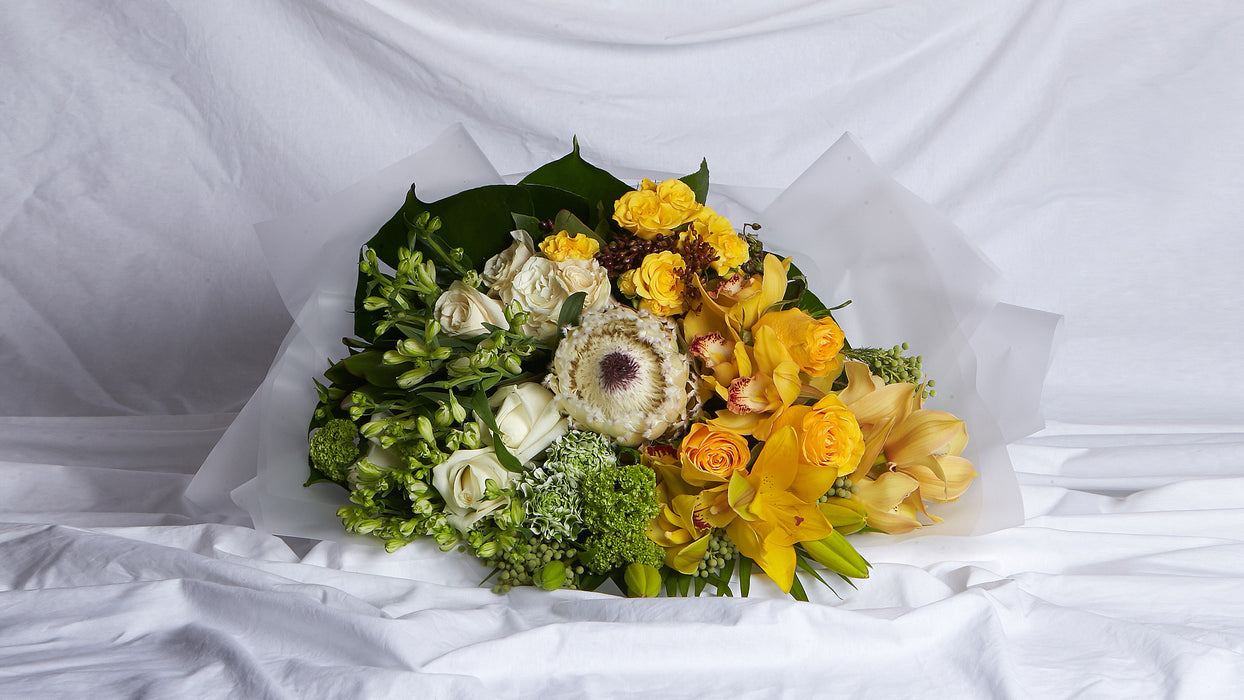 The Yellow & Green Bouquet