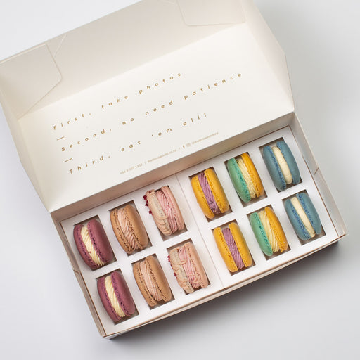 FRUIT FLAVOURS MACARONS SET