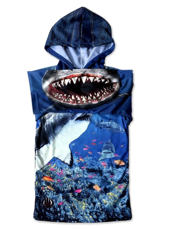 SHARK TANK 3D Hoodie Chomp Shirt for Adults by MOUTHMAN® - Valroy's