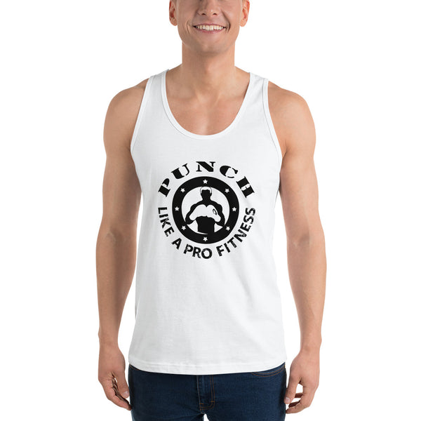 Valroys.com Unisex Tank Tops - Punch Like A Pro™ Classic Unisex Tank Top by PunchFit™ - PunchFit