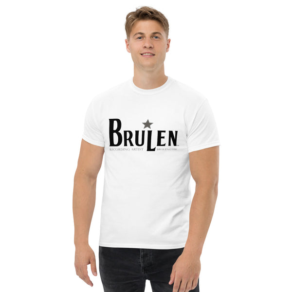 BRULEN™ Official Men's Heavyweight Tee Shirt in White or Gray