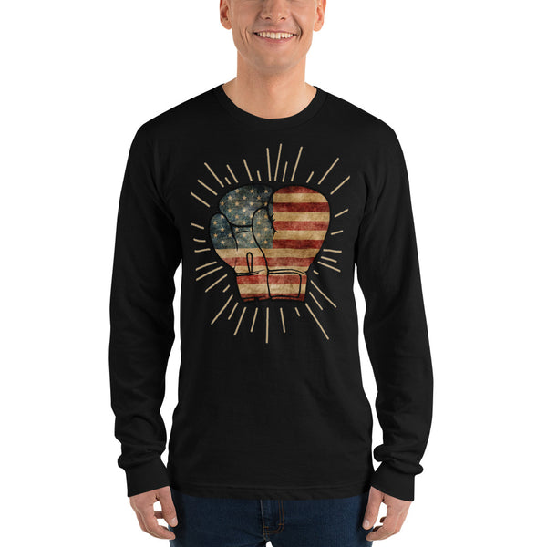 Punch Like A Pro Long Sleeve Unisex T-Shirt by PunchFit