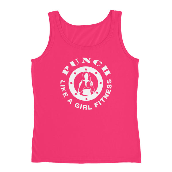 Punch Like A Girl® Ladies' Pastel Tank Top by PunchFit™
