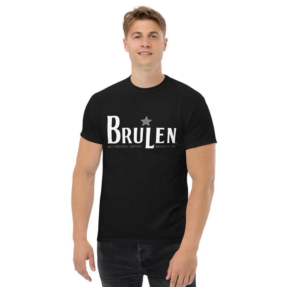 BRULEN™ Official Men's Heavyweight Tee Shirt in Black or Navy