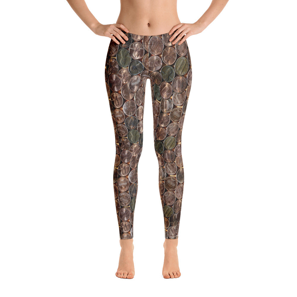 Pennies From Heaven Leggings by Muchi USA