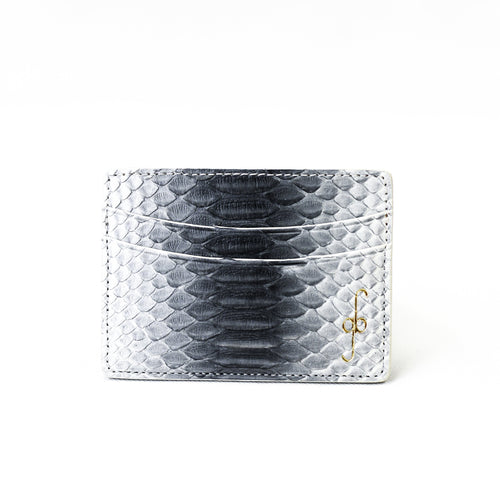 Giovanna Barrios Python Card Case