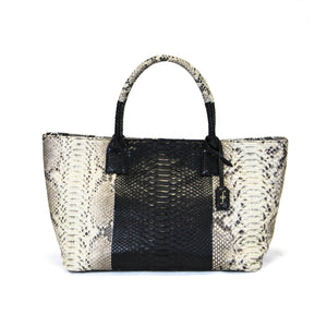 Giovanna Barrios Maxi Python Bajai Bag