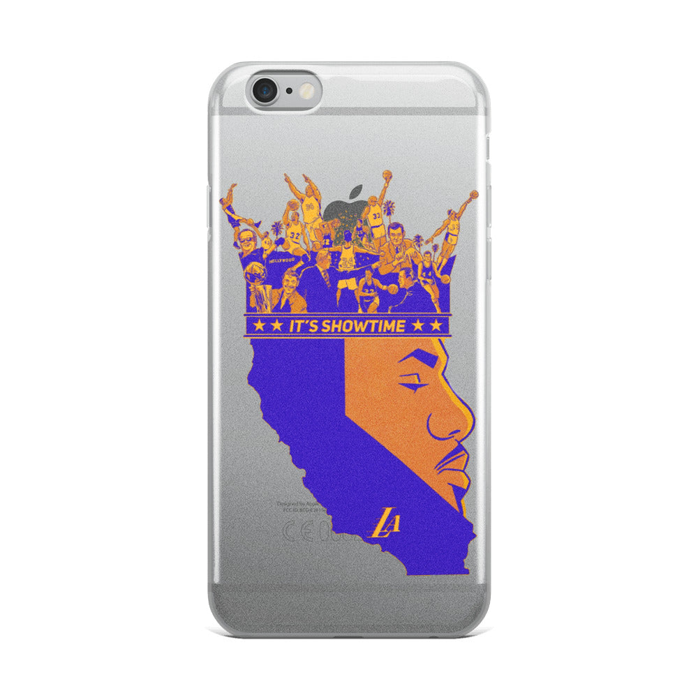 Showtime Bron iPhone Case