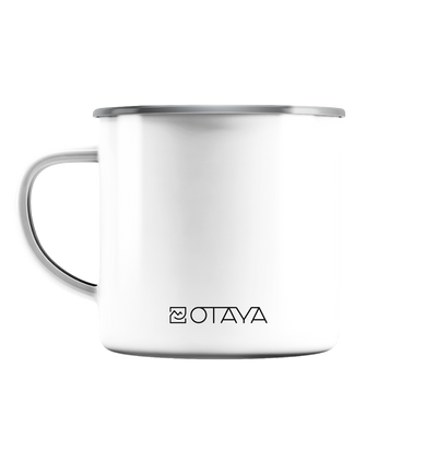 OTAYA - dO whaT mAkes You hAppy - Emaille Tasse