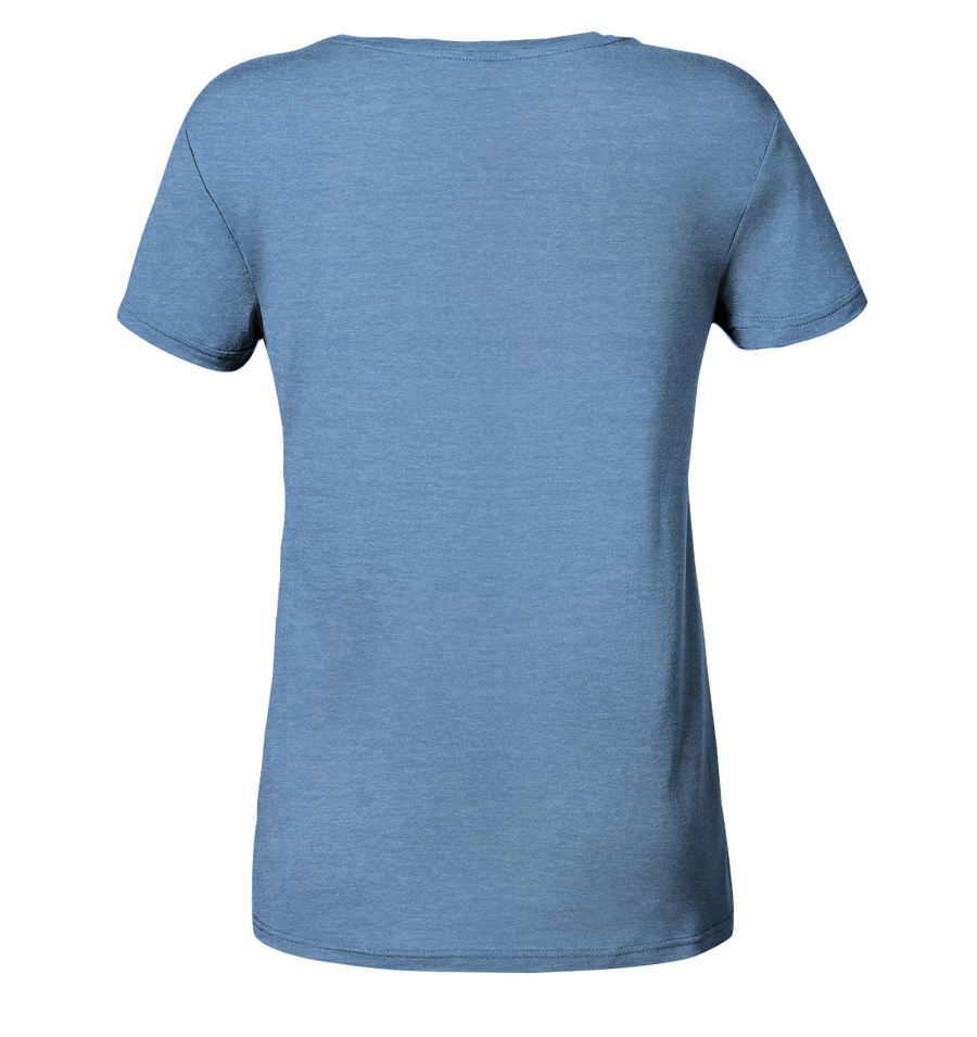 Eat. Sleep. Dive - Ladies Organic Shirt Meliert