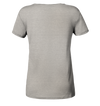 Herzschlag Trail Running - Ladies Organic Shirt Meliert