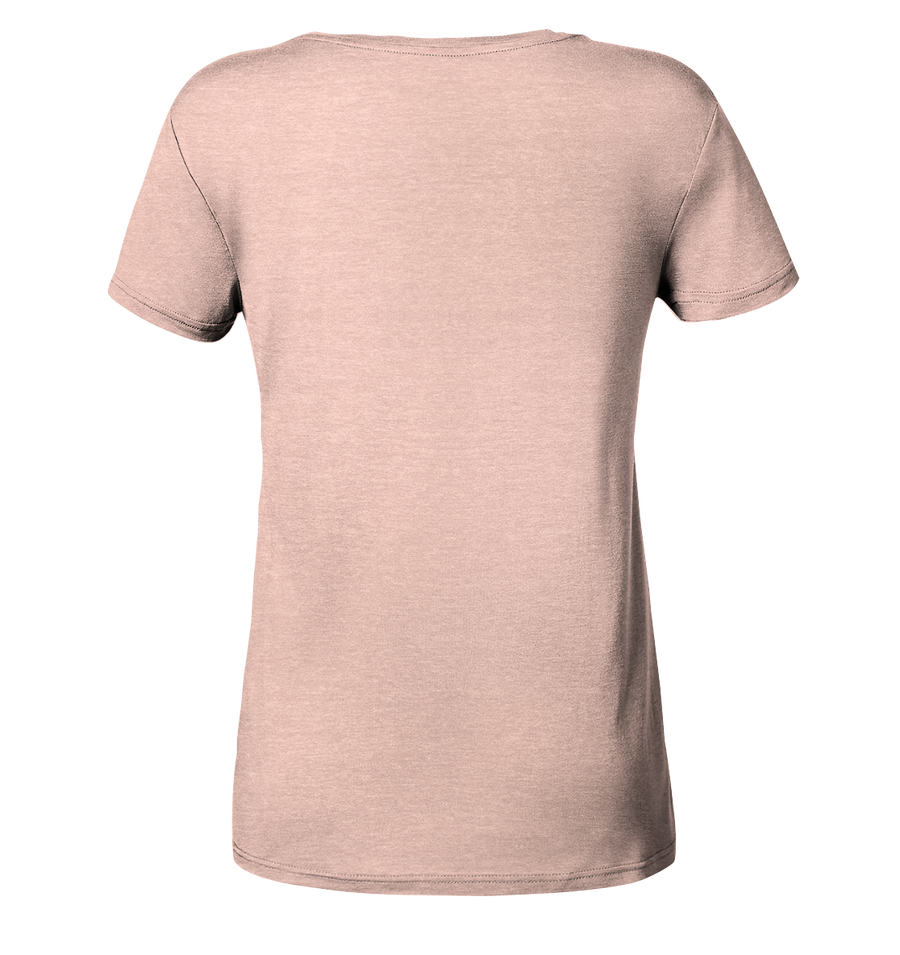Weltkompass - Ladies Organic Shirt Meliert