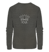 Yoga Lotus - Ladies Organic Sweatshirt