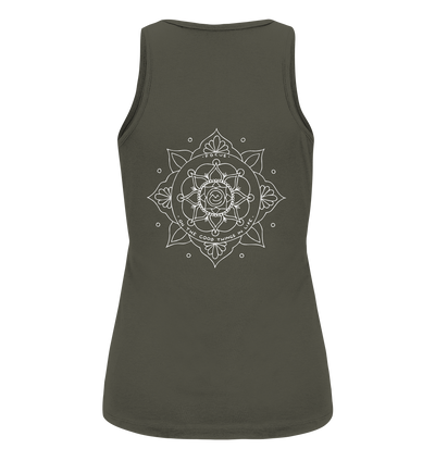Focus On The Good Things In Life - Ladies Organic Tank Top