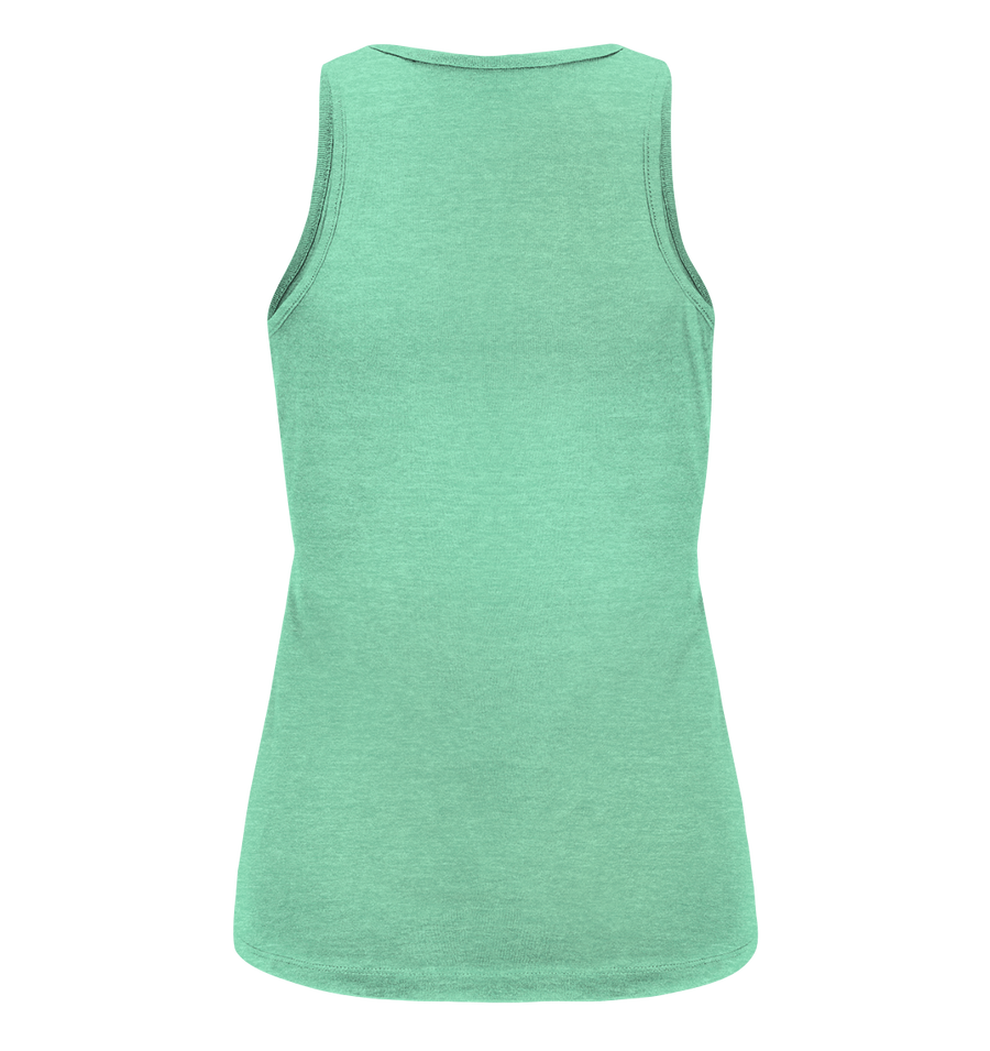 Runner Woman Pain - Ladies Organic Tank Top